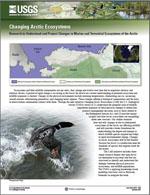 Thumbnail image of Changing Arctic Ecosystems factsheet.