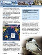 Thumbnail image of Wildlife Disease and Environmental Health in Alaska report.